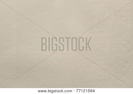 Imprinted Texture Of Thin Glossy Paper Beige Color