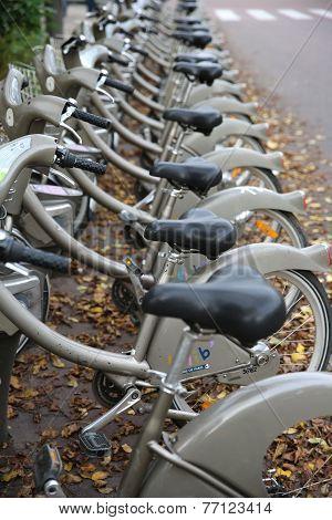 Rent a Bike. Paris