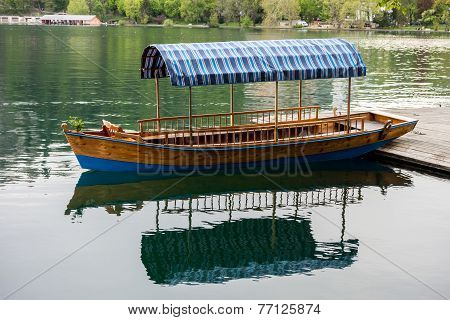 Boat On A Bled Lake