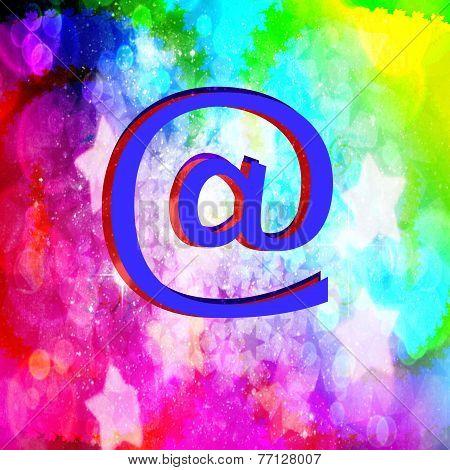 The e-mail symbol