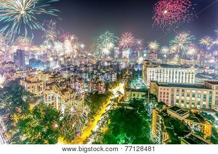 Diwali Fireworks 2014