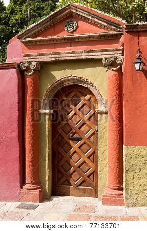 Colonial Spanish Door