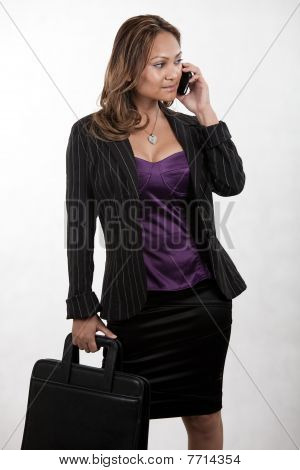 Attractive Twenties Asian Businesswoman