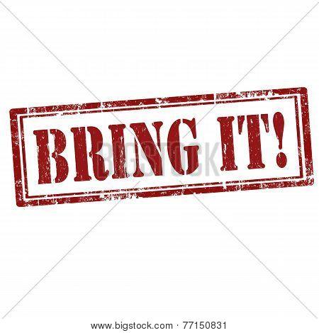 Bring It!-stamp