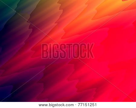 Abstract Colored Waves