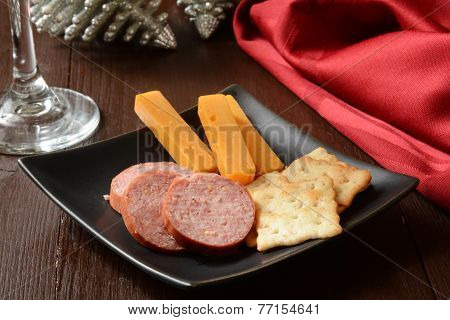 Smoked Sausage And Cheese