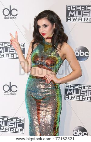LOS ANGELES - NOV 23:  Charli XCX at the 2014 American Music Awards - Press Room at the Nokia Theater on November 23, 2014 in Los Angeles, CA