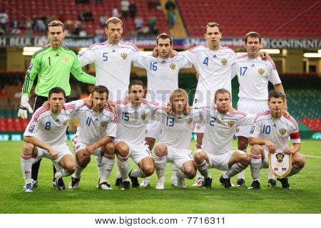 Russian World Cup Football Team