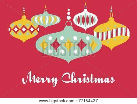 Christmas Greeting Card Template