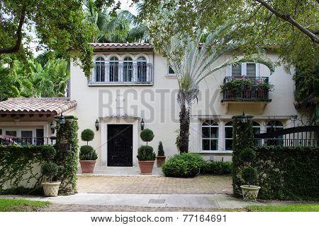 South Florida home exterior