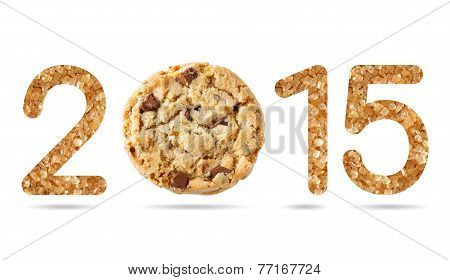 2015 Numeric From Natural Sugar And Chocolate Chunk Crispy Cookie