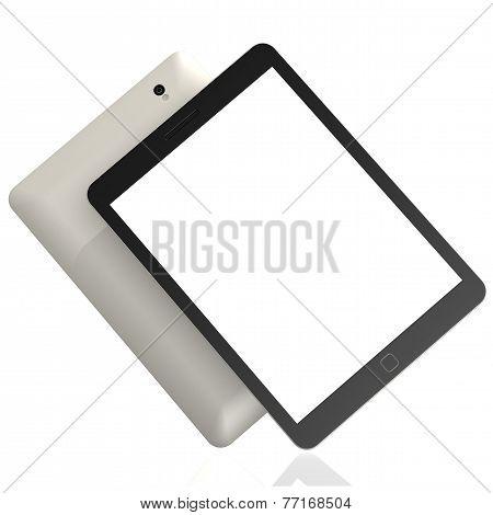 Blank Slanted Tablet