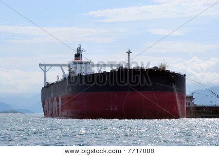 Tanker at Rest