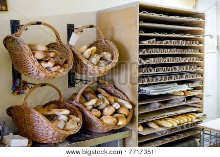 bakery in Valensole in Provence in France