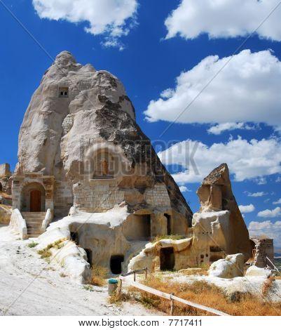 Rock geschnitzt Kirche in Urgup, Kappadokien