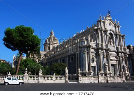 Catania Cathedral, In Sicily