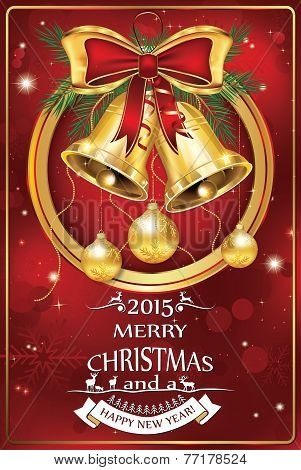 Business Christmas & New Year celebration greeting card