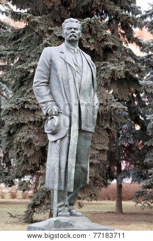 Statue Of Maxim Gorky
