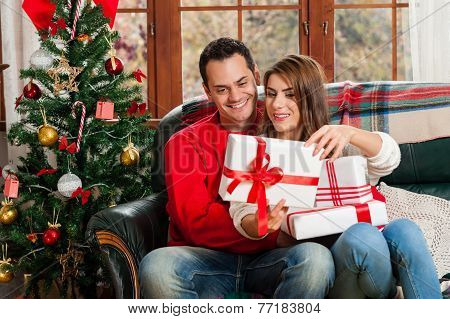 Love in the christmas eve