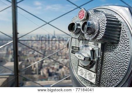 Observation deck at Empire State Building