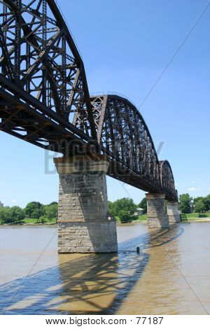 Railroad Bridge Over Ohio 1