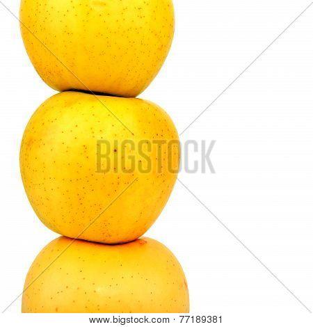 Apples Pile Closeup
