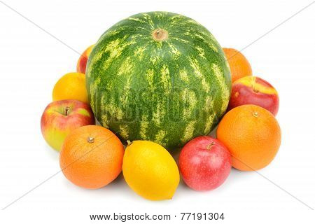 Watermelon And Fruit Set