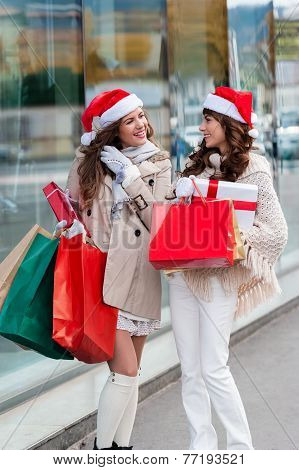 Happy day at shopping