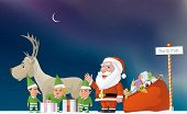 picture of north-pole  - Illustration of Santa - JPG