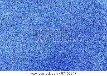 Blue glitter foam sheet texture