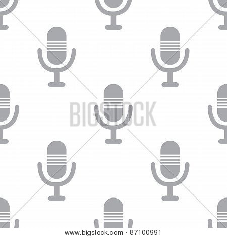 New Microphone seamless pattern