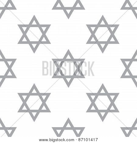 New Judaism seamless pattern