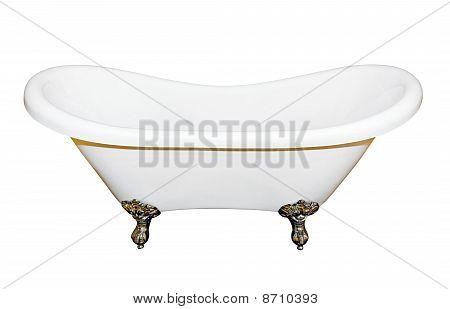 Bathtub Isolated