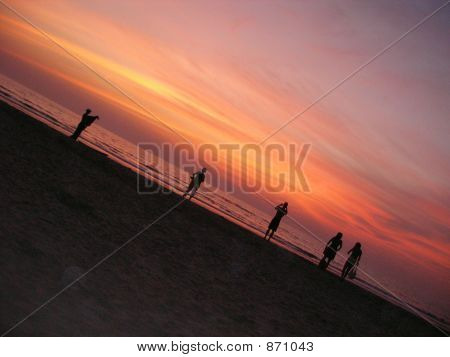 Sunset Over The Arabian Sea, Goa, India