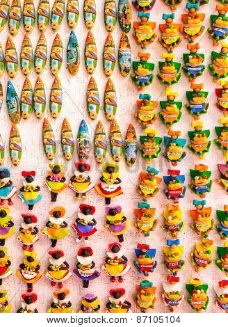Caribbean Souvenirs In Dominican Republic