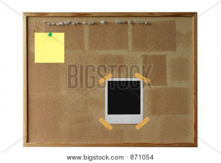 Cork Board With
