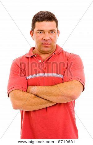Mature Casual Man Portrait