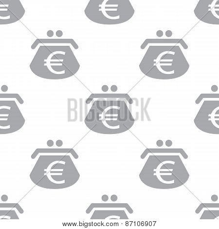 New Euro purse seamless pattern