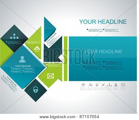 Brochure, Flyer, Magazine Cover, Web Page, Poster Template