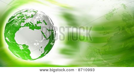 Earth digital illustration