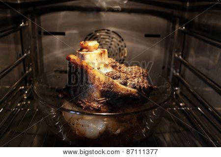 Beef Shank Baked In The Oven