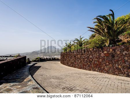 Observation Deck. Arona, Tenerife. Canary Islands. Spain