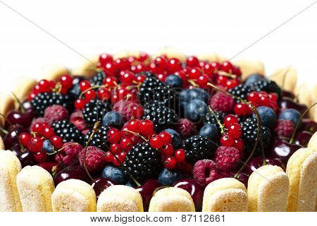 Fresh Berries Cake