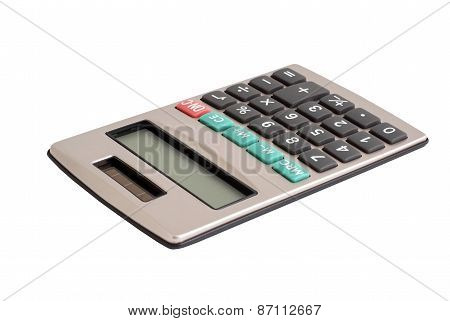 Calculator With A Solar Battery