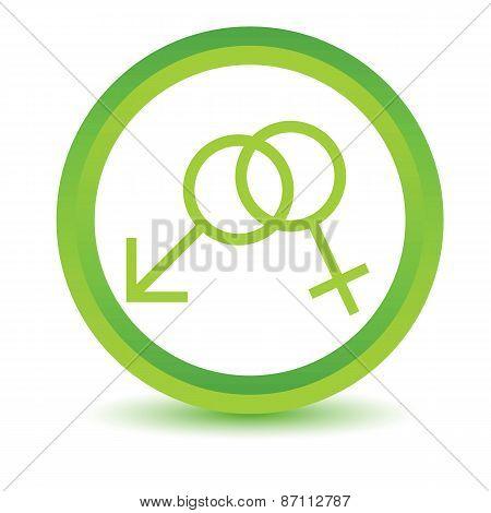 Green sex icon