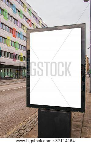 Blank Billboard In Helsingborg