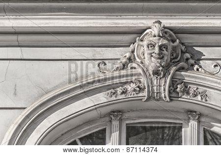 Riga Gamla Stan Window Devil
