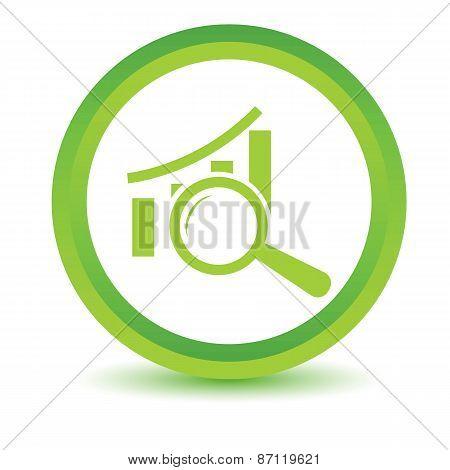 Green Graph scan icon