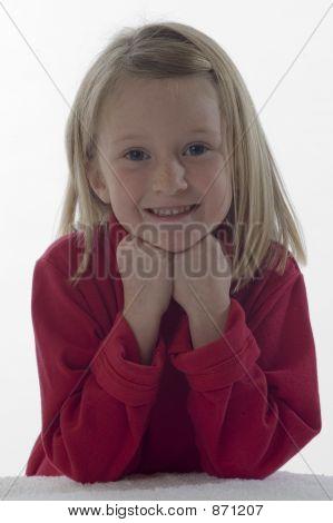 Very cute little girl