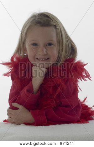 Little Girl In Red